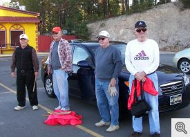L to R, Wayne Kapple, Marvin Young, Bill Hurley and Bill Janser.