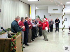 The Twelve Days Of Christmas Choir led by Buddy Dixon