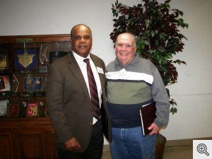Dr. Rodney Davis with Buddy Dixon